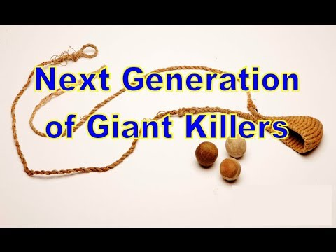 God Is Seeking Giant Killers