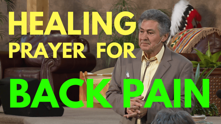 Healing Prayer For Back Pain - Mel Bond.