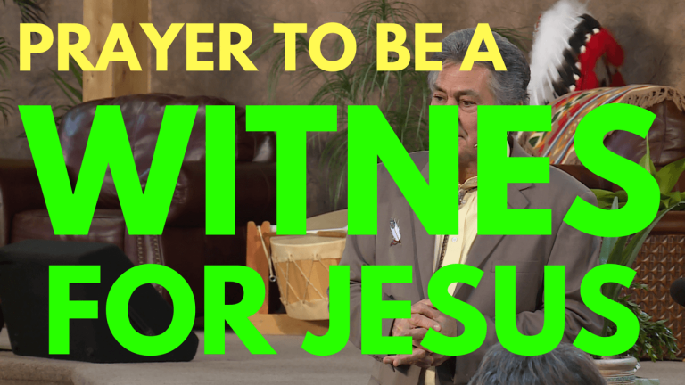 Prayer To Be A Witness For Jesus - Mel Bond