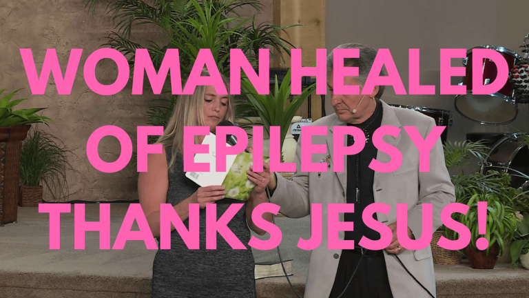 Woman Healed Of Epilepsy