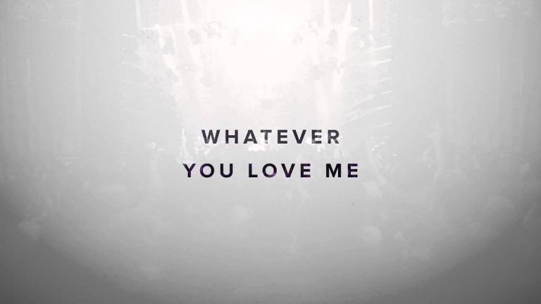 In Awe Of You - Jesus Culture - Kim Walker-Smith - Lyric Video