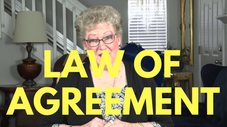 Law Of Agreement - Marie Day